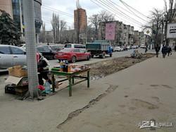 В Одессе начали ремонтировать важную автомагистраль (ВИДЕО)