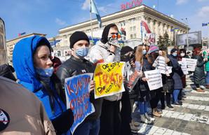 В Харькове актеры потребовали у власти прекратить геноцид к деятелям искусства (Видео)