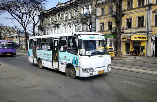 Одесские маршрутчики массово игнорируют карантин (ФОТО)