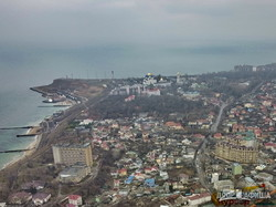В Одессе показали с высоты массовую застройку курортного побережья (ВИДЕО)