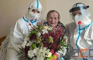 100-летняя бабушка из Черновцов вылечилась от коронавируса