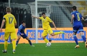 Сборная Украины впервые не смогла одолеть Казахстан