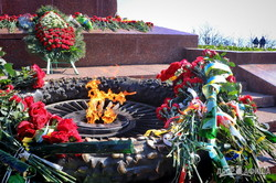 Как в Одессе отметили 77-ю годовщину освобождения города (ВИДЕО)