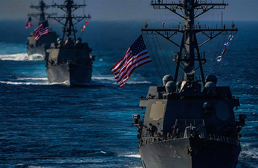 Офис президента предложил США разместить военный флот в Украине