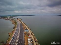 На одесской трассе открыли мост-долгострой: его ремонтировали почти 15 лет (ВИДЕО)