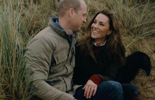 Кейт Миддлтон и принц Уильям опубликовали трогательное видео в честь годовщины свадьбы