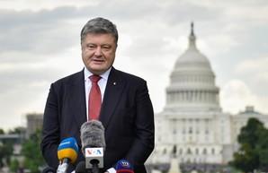 Порошенко попросил сенаторов США организовать встречу Байдена с Зеленским перед Путиным