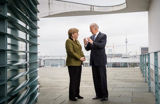 Байден и Меркель обсудят последствия запуска «Северного Потока 2» для Украины