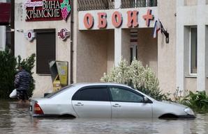 Наводнение в Крыму: Ялта уходит под воду