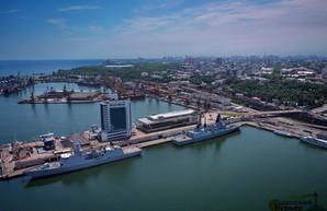 В Одессе находится военный флот НАТО (ВИДЕО)