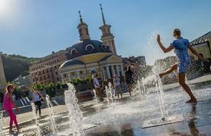 В Киев пришла аномальная жара