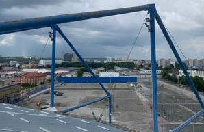 «Восстание из пепла»: в Харькове ни на день не останавливаются работы по восстановлению инфраструктуры «Металлиста» (ВИДЕО)