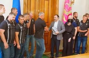 Артур Товмасян поздравил с чемпионством регбистов Ярославского (ВИДЕО)