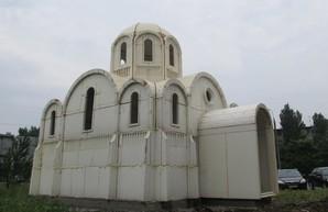 В Херсоне строят необычную церковь