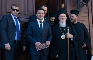 Офис президента готовится к визиту патриарха Варфоломея
