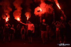 Активисты устроили дискотеку в честь отставки Авакова