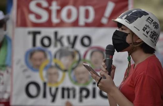 Японцы вышли на пикет против Олимпиады (Видео)