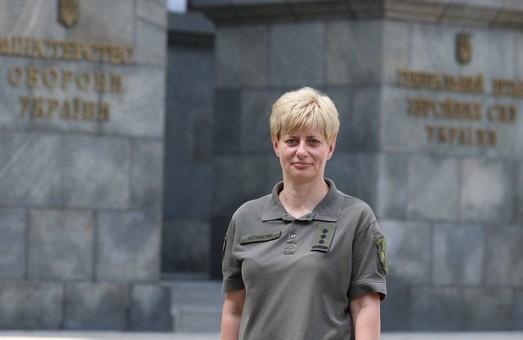 В Украине впервые женщина стала командующим Вооруженных сил