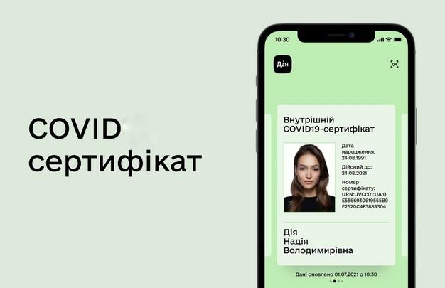 Украинские COVID-сертификаты прошли техническое оценивание в ЕС