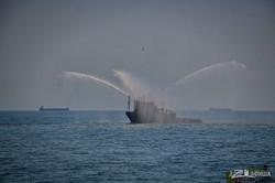 В Одессе прошел грандиозный морской парад с кораблями Украины и НАТО (ВИДЕО)