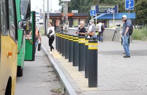 Остановки общественного транспорта в столице станут безопасными