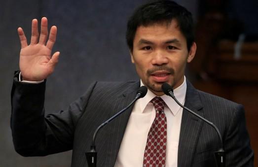 Боксер Мэнни Пакьяо поборется за пост президента Филиппин от имени правящей партии