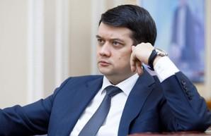 Разумков заявил, что пойдет в суд, если у него заберут мандат